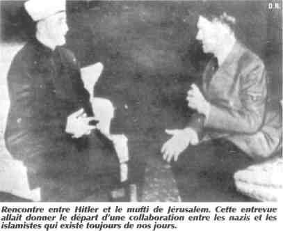 Rencontre entre Hitler et le mufti de Jérusalem