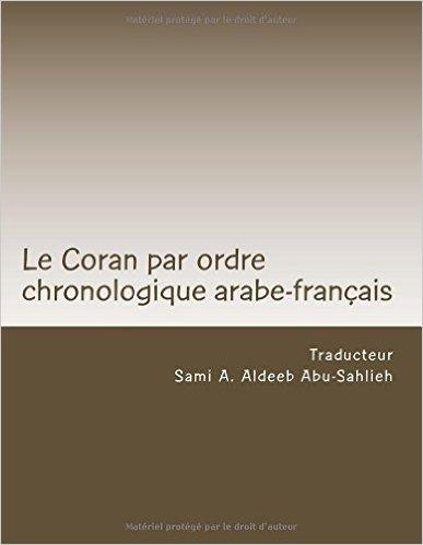 Le coran par ordre chronologique arabe-français